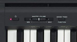 Minimumlist style of Yamaha P45 control panel