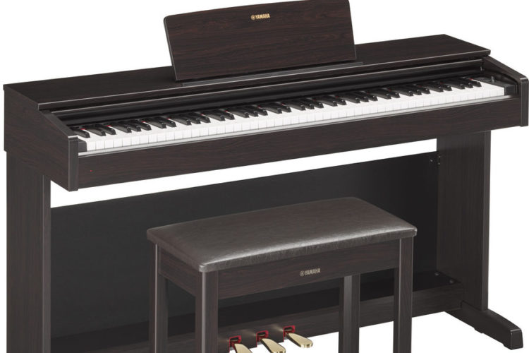yamaha arius ydp 143 review popular all rounder. Black Bedroom Furniture Sets. Home Design Ideas
