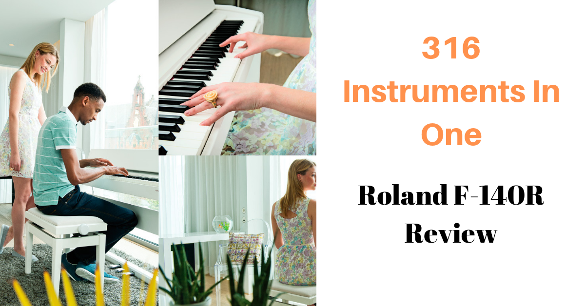 Roland F-140R Review - 316 Instruments In One • Digital Piano