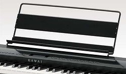 The music rest included in the Kawai ES8