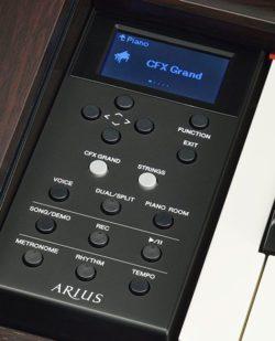 Yamaha YDP 184 control panel