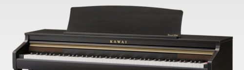 The included music rest of the Kawai CA48