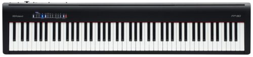 Key action on the Roland FP-30