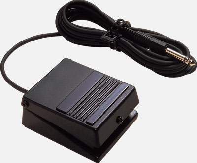 The included sustain pedal of Roland FP-30