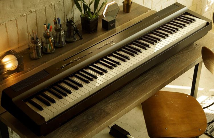 The Yamaha P-125 is good looking.