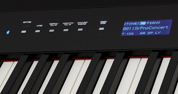 The display on the Casio PX S3000
