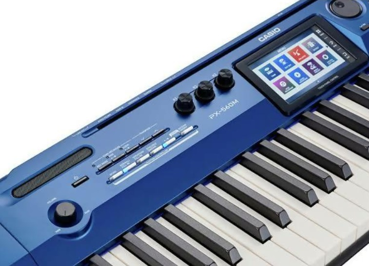 The keyboard of Casio Privia PX-560