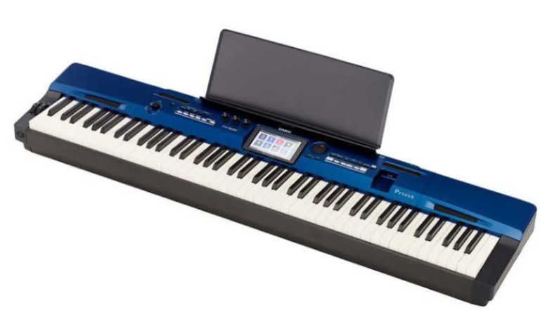 The music rest on the Casio Privia PX-560