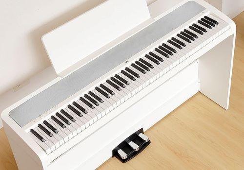 The keys on the Korg B2