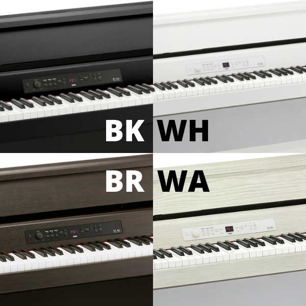 The four colors of Korg G1 Air