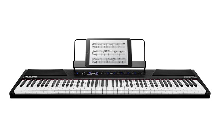 The simple and elegant design of the Alesis Recital.