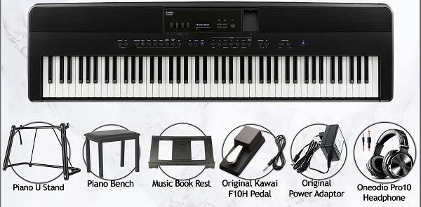 Kawai ES920 Review - accessories