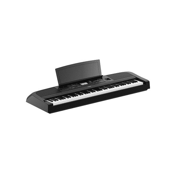 Yamaha DGX 670 Review - music rest