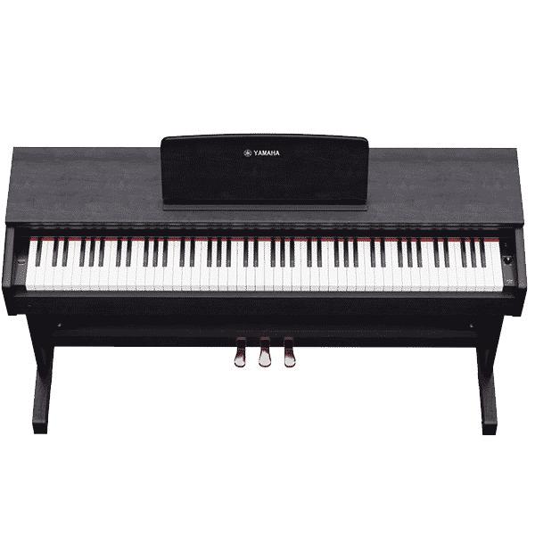 Yamaha YDP-103 Review - Keys
